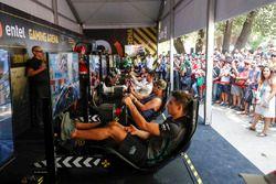 Mitch Evans, Jaguar Racing, Jose Maria Lopez, Dragon Racing., Nelson Piquet Jr., Jaguar Racing