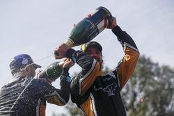 Podyum: Yarış galibi Jean-Eric Vergne, Techeetah, 2. sıra Andre Lotterer, Techeetah, Foemula E tarih