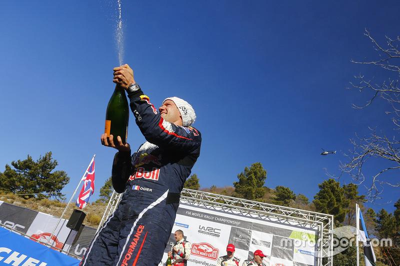 Il vincitore Sébastien Ogier, M-Sport Ford