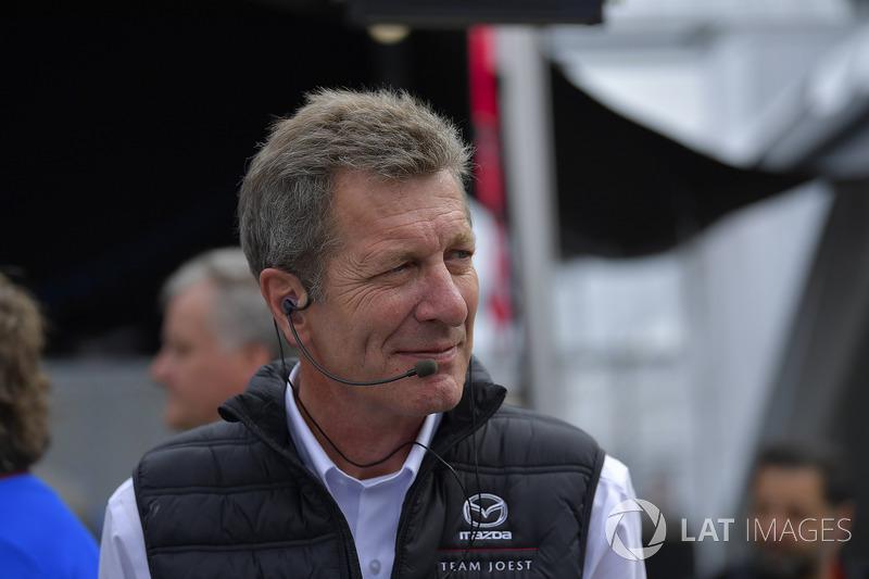 Ralf Juettner of Mazda Joest Racing