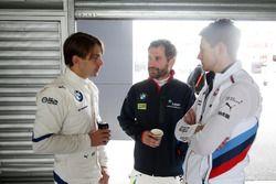 #43 BMW Team Schnitzer BMW M6 GT3: Augusto Farfus, Marco Wittmann, #100 BMW Team SRM BMW M6 GT3: Tim