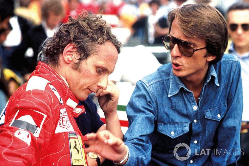 Niki Lauda e Luca Di Montezemolo