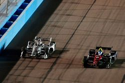 Josef Newgarden, Team Penske Chevrolet; Robert Wickens, Schmidt Peterson Motorsports Honda