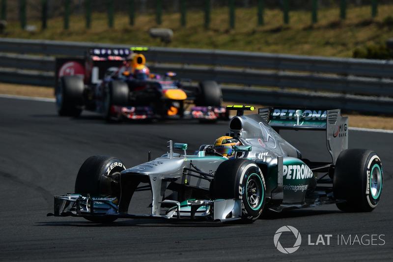 2013 Lewis Hamilton, Mercedes