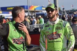 Daniel Suarez, Joe Gibbs Racing, Toyota Camry Interstate Batteries and Scott Graves