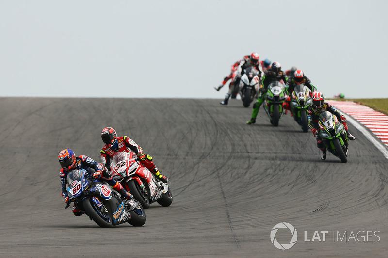 Michael van der Mark, Pata Yamaha, Lorenzo Savadori, Milwaukee Aprilia