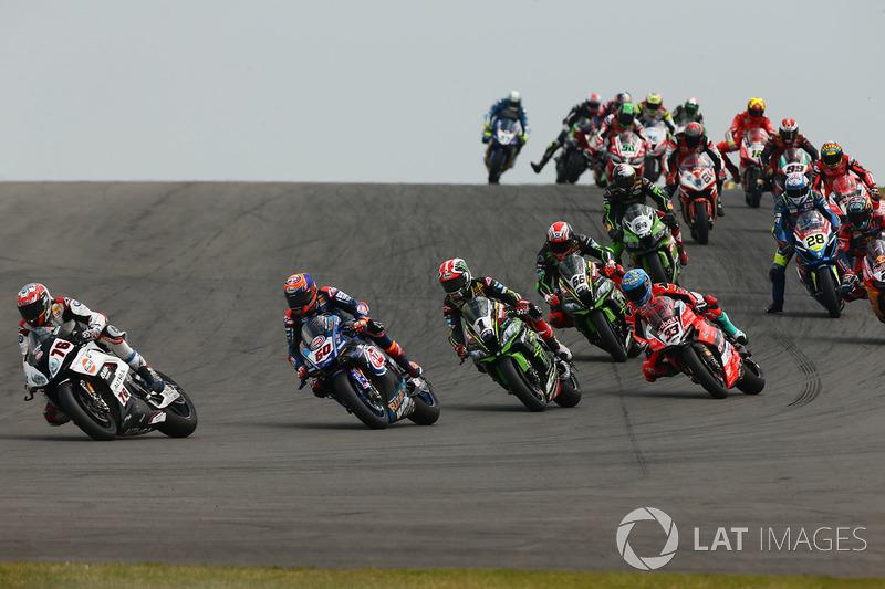 Loris Baz, Althea Racing, Michael van der Mark, Pata Yamaha