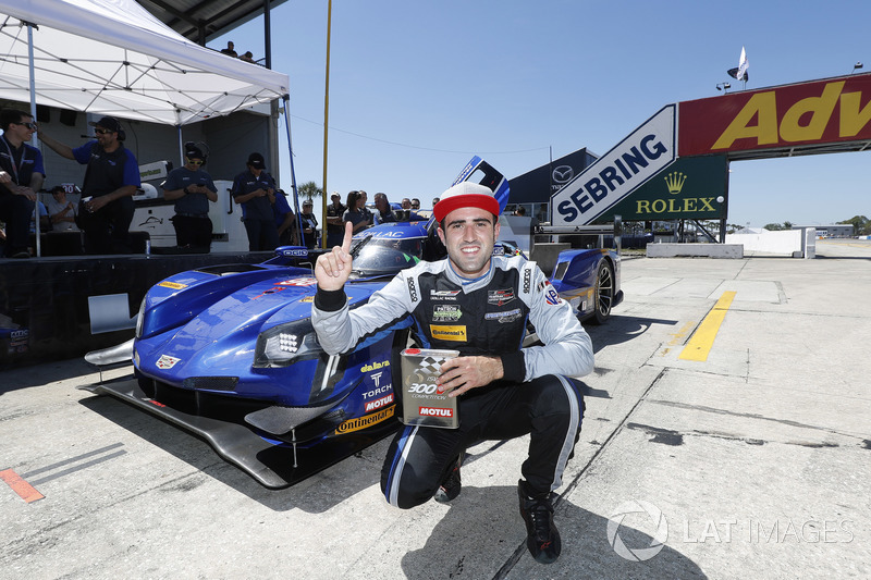 Ganador de la pole Tristan Vautier, Spirit of Daytona Racing