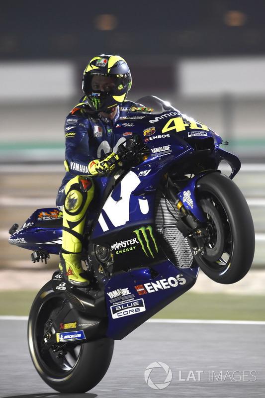 MotoGP Qatar: Valentino Rossi, Yamaha Factory Racing