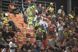 Fan in tribuna