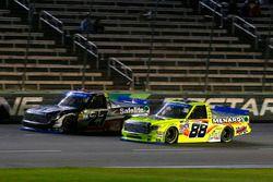 Matt Crafton, ThorSport Racing Toyota and Ben Rhodes, ThorSport Racing Toyota