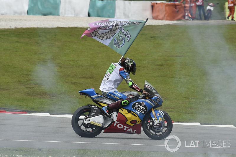 Il terzo classificato e campione Franco Morbidelli, Marc VDS