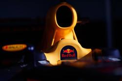 Dettaglio dell'abitacolo della Red Bull Racing