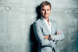 Nico Rosberg at the Mercedes museum