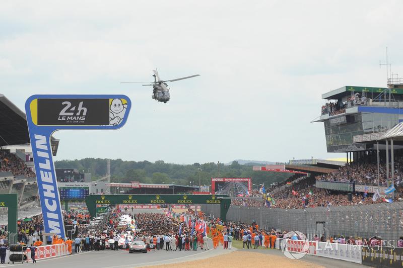 Parrilla de salida de Le Mans 2018