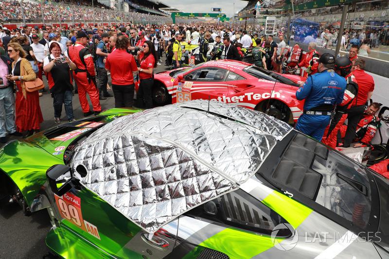 #99 Dempsey Proton Competition Porsche 911 RSR: Patrick Long, Tim Pappas, Spencer Pumpelly, #85 Keating Motorsports Ferrari 488 GTE: Ben Keating, Jeroen Bleekemolen, Luca Stolz