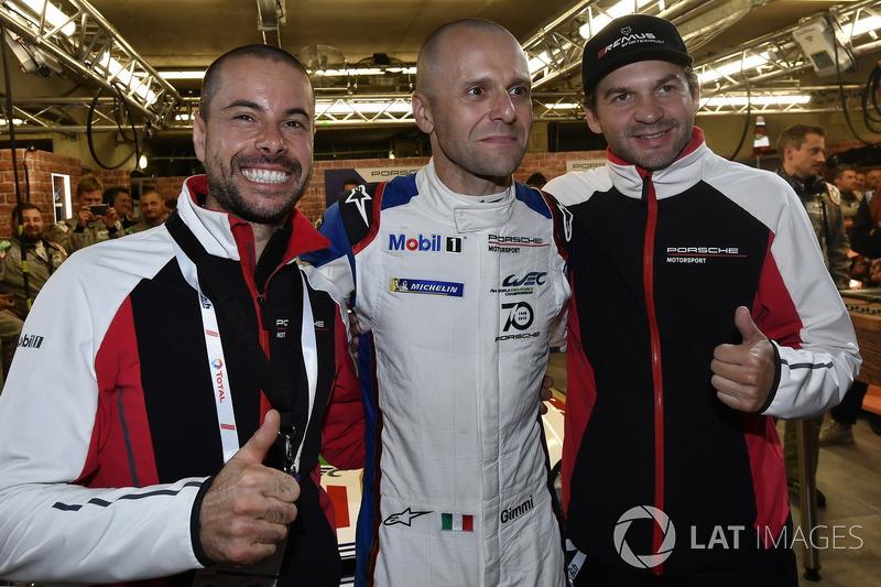 Pole position GTE Pro: #91 Porsche GT Team Porsche 911 RSR: Richard Lietz, Gianmaria Bruni, Frédéric Makowiecki