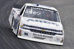 Austin Hill, Young's Motorsports, Chevrolet Silverado Ennis Steel Industries Inc