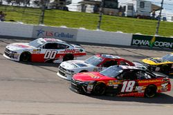 Riley Herbst, Joe Gibbs Racing, Toyota Camry Advance Auto Parts, Kaz Grala, Fury Race Cars LLC, Ford Mustang NETTTS and Cole Custer, Stewart-Haas Racing, Ford Mustang Haas Automation
