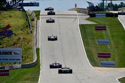 Tony Kanaan, A.J. Foyt Enterprises Chevrolet, Gabby Chaves, Harding Racing Chevrolet