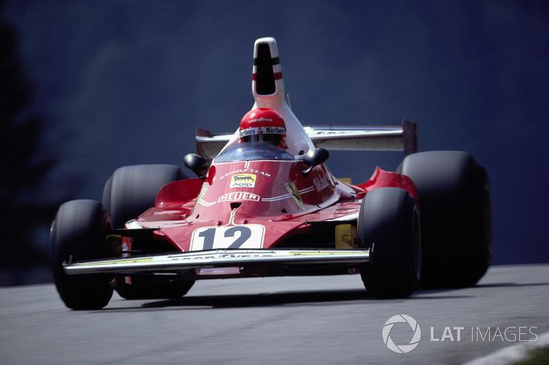 Niki Lauda - 15 victorias con Ferrari