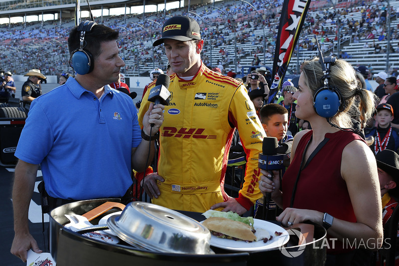 Ryan Hunter-Reay, Andretti Autosport Honda appears on the inaugural episode of