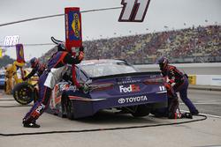 Denny Hamlin, Joe Gibbs Racing, Toyota Camry FedEx Freight