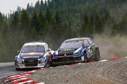 Mattias Ekström, EKS Audi Sport, Petter Solberg, PSRX Volkswagen Sweden