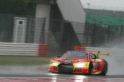 #21 Audi Sport Slovakia Audi R8 LMS: Jirko Malcharek, Christian Malcharek