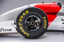1993 McLaren-Cosworth Ford MP4/8A of Ayrton Senna, Good Year tyre detail
