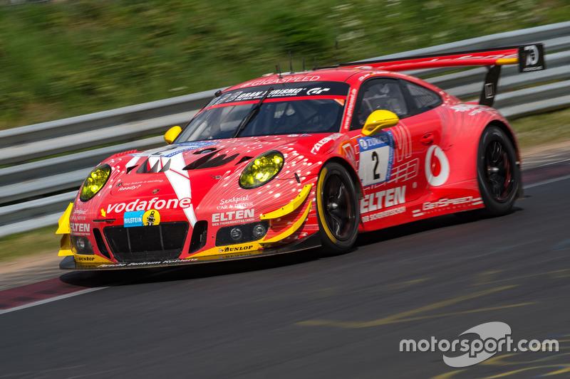 15. #2 Gigaspeed Team GetSpeed Performance Porsche 911 GT3 R: Steve Jans, Marek Böckmann, Lucas Luhr, Jan-Erik Slooten