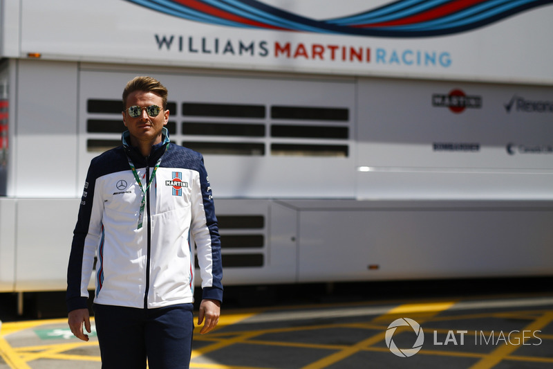 Oliver Rowland, Williams Martini Racing