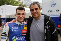 Devlin DeFrancesco, Carlin Dallara F317 - Volkswagen with Juan-Pablo Montoya