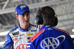 Joey Logano, Team Penske, Ford Fusion AAA Insurance and Todd Gordon