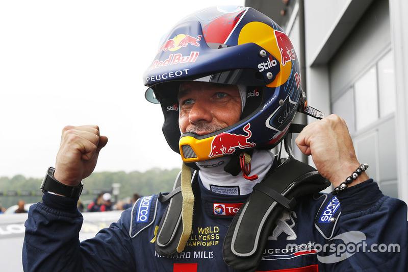 Winner Sébastien Loeb, Team Peugeot Total