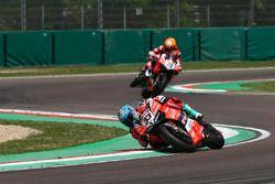 Marco Melandri, Aruba.it Racing-Ducati SBK Team, Michael Ruben Rinaldi, Aruba.it Racing-Ducati SBK Team