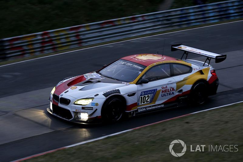 18. #102 Team BMW Shell Helix Walkenhorst Motorsport BMW M6 GT3: Augusto Farfus, Markus Palttala, Christian Krognes, Fabian Schiller