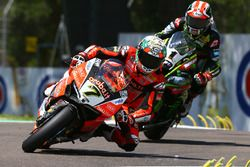 Chaz Davies, Aruba.it Racing-Ducati SBK Team, Jonathan Rea, Kawasaki Racing
