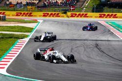 Marcus Ericsson, Sauber C37, Sergey Sirotkin, Williams FW41, Brendon Hartley, Toro Rosso STR13