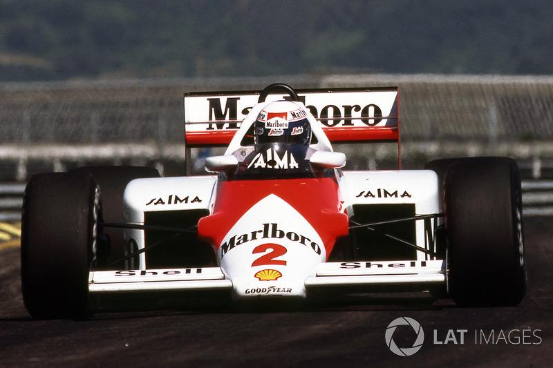 1985: Alain Prost, McLaren - (Jacarepaguá)