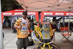 Yamaha #263, Carlos Alejandro Verza