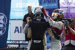 Jean-Eric Vergne, Techeetah, gana, Lucas di Grassi, Audi Sport ABT Schaeffler, Daniel Abt, Audi Sport ABT Schaeffler