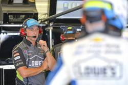 Jimmie Johnson, Hendrick Motorsports, Chevrolet Camaro Lowe's / Jimmie Johnson Foundation, crew chief, Chad Knaus