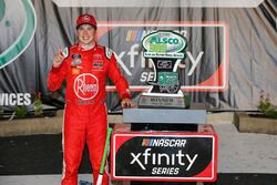 Christopher Bell, Joe Gibbs Racing, Toyota Camry Rheem celebrates