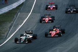 Teo Fabi, Benetton B186