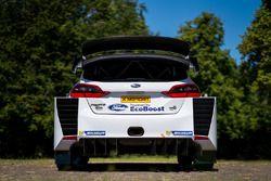 M-Sport Ford Fiesta WRC detalle trasero