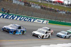 Martin Truex Jr., Furniture Row Racing, Toyota Camry Auto-Owners Insurance Erik Jones, Joe Gibbs Racing, Toyota Camry Freightliner
