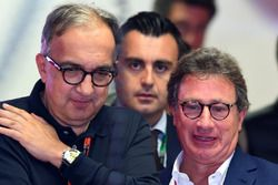 Sergio Marchionne, CEO FIAT and Louis Camilleri, Chairman of Philip Morris
