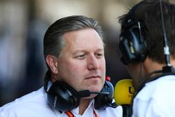 Zak Brown, directeur exécutif, McLaren Technology Group