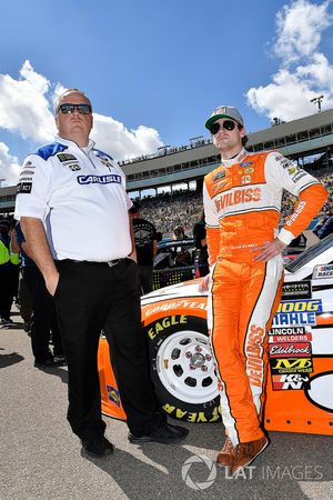 Ryan Blaney, Team Penske, Ford Fusion Devilbiss and crew chief Jeremy Bullins